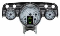 Tri-Five - Dakota Digital - HDX Gauge System Silver Alloy