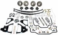 Classic Tri-Five Restoration Parts - Classic Performance Products - Stage 3 Pro-Touring Suspension Kits