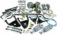 Chassis & Suspension Restoration Parts - CPP Pro-Touring Kits - Classic Performance Products - Stage 3 Pro-Touring Suspension Kit