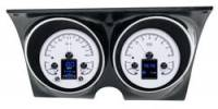 Dakota Digital Gauge Kits - Dakota HDX Systems - Dakota Digital - Dakota Digital HDX Gauge Series Silver Alloy