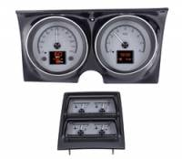 Dakota Digital - Dakota Digital HDX Gauge Series Silver Alloy