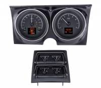 Camaro - Dakota Digital - HDX Gauge System Black Alloy