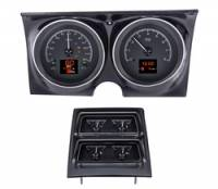 Dakota Digital Gauge Kits - Dakota HDX Systems - Dakota Digital - Dakota Digital HDX Gauge Series Black Alloy