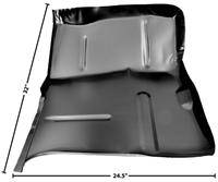 New Products - Dynacorn - Cab Floor Section LH