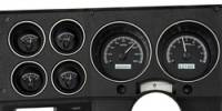 New Products - 1973-87 Chevy/GMC Truck - Dakota Digital - Dakota Digital VHX Gauge System Gauge System Black Alloy White