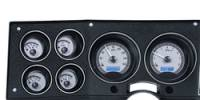New Products - 1973-87 Chevy/GMC Truck - Dakota Digital - Dakota Digital VHX Gauge System Gauge System Silver Alloy Blue