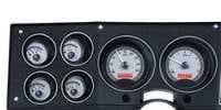 New Products - 1973-87 Chevy/GMC Truck - Dakota Digital - Dakota Digital VHX Gauge System Gauge System Silver Alloy Red