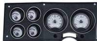 New Products - 1973-87 Chevy/GMC Truck - Dakota Digital - Dakota Digital VHX Gauge System Gauge System Silver Alloy White