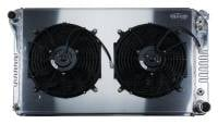New Products - Cold Case Radiators - Aluminum Radiator with Dual Electric Fans
