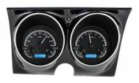 Camaro - Dakota Digital - VHX Series Gauges Black Alloy Blue