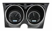 Camaro - Dakota Digital - VHX Series Gauges Black Alloy White