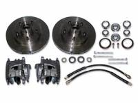 Classic Tri-Five Restoration Parts - Classic Performance Products - Rotor/Caliper Kit for Stock Height Spindles