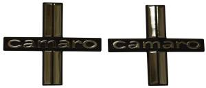 Classic Camaro Restoration Parts - Emblems - Door Panel Emblems