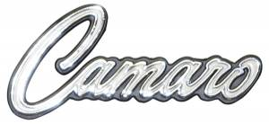 Classic Camaro Restoration Parts - Emblems - Glove Box Emblems