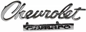 Classic Camaro Restoration Parts - Emblems - Trunk Emblems