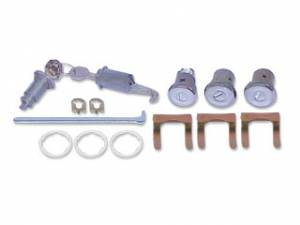 Classic Camaro Parts Online Catalog - Lock Sets - Complete Lock Sets