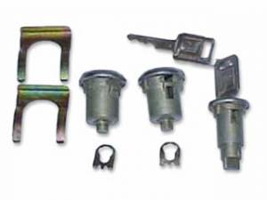 Classic Camaro Parts Online Catalog - Lock Sets - Ignition & Door Lock Sets