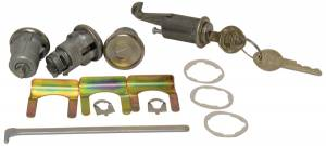 Classic Camaro Parts Online Catalog - Lock Sets - Ignition/Door/Trunk Lock Sets