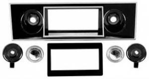 Classic Camaro Restoration Parts - Radio & Audio Restoration Parts - Radio Bezels