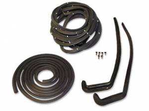 Weatherstripping & Rubber Restoration Parts - Weatherstrip Kits - Basic Weatherstrip Kits
