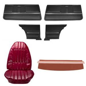 Classic Camaro Restoration Parts - Interior Restoration Parts & Trim - Interior Soft Goods