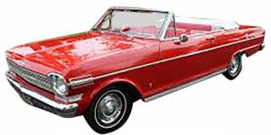 Classic Nova & Chevy II Restoration Parts - Convertible Top Restoration Parts