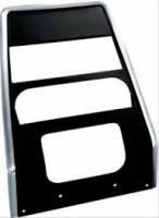 Dash Parts - Dash Bezels & Trim - OER (Original Equipment Reproduction) - Dash Center Panel Black