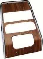 Dash Parts - Dash Bezels & Trim - OER (Original Equipment Reproduction) - Dash Center Panel Walnut