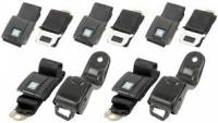Seat Parts - Seat Belt Parts - OER - Front Rear Seat Belt Set