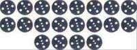 Hood Parts - Hood Insulation - OER (Original Equipment Reproduction) - Hood Insulation Fastener Set