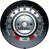 Dash Parts - Factory Gauges - OER (Original Equipment Reproduction) - Speedometer 120MPH