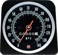 Dash Parts - Factory Gauges - OER (Original Equipment Reproduction) - Speedometer 140MPH