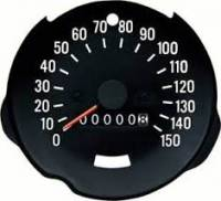 Dash Parts - Factory Gauges - OER (Original Equipment Reproduction) - Speedometer 150MPH