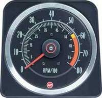 Dash Parts - Factory Gauges - OER (Original Equipment Reproduction) - Tach 6000 RedLine