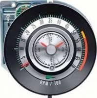 Dash Parts - Factory Gauges - OER (Original Equipment Reproduction) - Tach 5500 RedLine