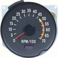 Dash Parts - Factory Gauges - OER (Original Equipment Reproduction) - Tach 5000 RedLine