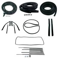 Classic Camaro Parts Online Catalog - H&H Classic Parts - Deluxe Weatherstrip Kit