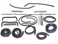 Weatherstrip Kits - Deluxe Weatherstrip Kits - H&H Classic Parts - Deluxe WeatherStrip Kit