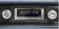 Classic Impala, Belair, & Biscayne Restoration Parts - Custom Autosound - USA-740 AM/FM Blue Tooth Radio