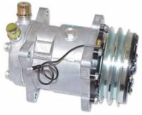 Classic Chevelle, Malibu, & El Camino Restoration Parts - Vintage Air - Standard Compressor with Dual Grove Pulley