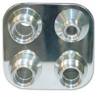 Vintage Air Parts - Vintage Air Firewall Bulkheads - Vintage Air - Square Bulk Head with 6-10 Fittings