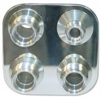 Vintage Air Parts - Vintage Air Firewall Bulkheads - Vintage Air - Square Bulk Head with 8-10 Fittings