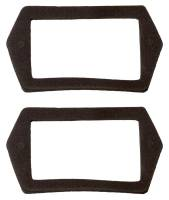License Plate & Light Parts - License Plate Light Parts - Soff Seal - License Light Gasket