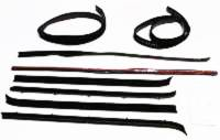 Classic Chevy & GMC Truck Restoration Parts - Repops - Window Channel Kit