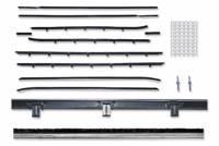 Weatherstripping & Rubber Restoration Parts - Window Felt Kits - Repops - Window Felt-Kit