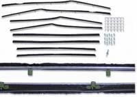Weatherstripping & Rubber Restoration Parts - Window Felt Kits - Repops - Window Felt-Kit