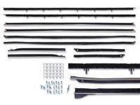 Weatherstripping & Rubber Restoration Parts - Window Felt Kits - Repops - Window Channel Kit