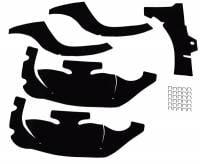 Chassis & Suspension Restoration Parts - A-Arm Dust Shields - Repops - A-Arm Dust Shields