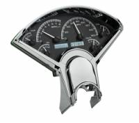 Dakota Digital - Dakota Digital VHX Gauge System Black Alloy White - Image 2