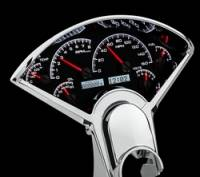 Dakota Digital - Dakota Digital VHX Gauge System Black Alloy White - Image 3
